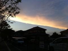 くっきり雲