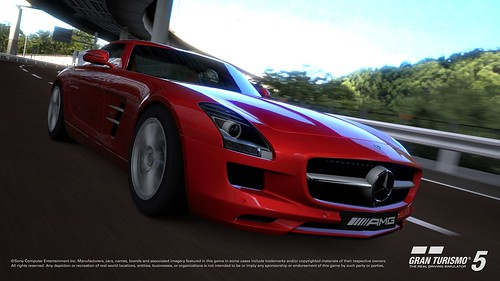 Mercedes SLS AMG screen shot