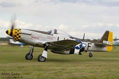 G-MSTG NORTH AMERICAN P-51D MUSTANG 124-48271  - 110828 - Little Gransden - Alan Gray - IMG_0967