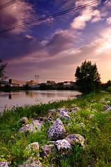 Summer evening (G@oxinchen) Tags: sunset summer landscape evening purple gnd
