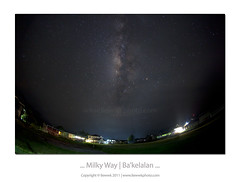 ... Milky Way | Ba'kelalan ... (liewwk - www.liewwkphoto.com) Tags: our light home way star solar highlands with nightscape earth border band pale system galaxy sarawak malaysia hazy milky indonesian milkyway kalimantan bario galaxias  bakelalan lunbawang