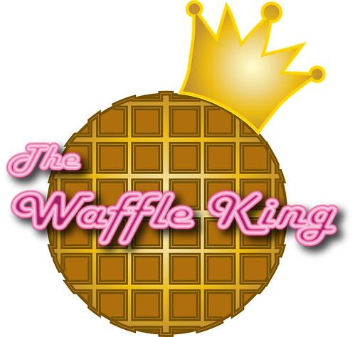 The Waffle King Logo by Ron San Kyuu Ban