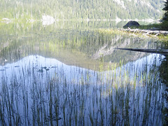 Campsite lakeside (Jrk3) Tags: dorothylake alpinelakeswilderness wahiking