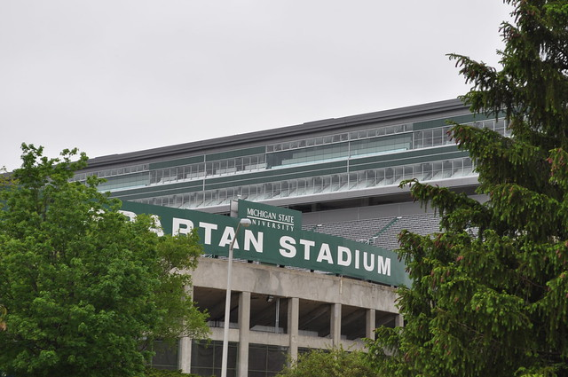 Spartan Stadium at MSU in East Lansing Photo by Michigan Municipal League