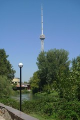 Another view of the Tashkent TV Tower