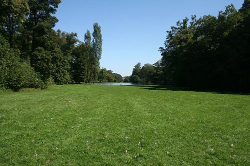 Südliche Durchsicht - Schlosspark Nymphenburg