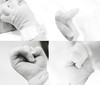 (Ebtesam.) Tags: baby white black blur 35mm grey nikon child hand kingdom newborn saudi jeddah ابتسام ebtesam nikond7000