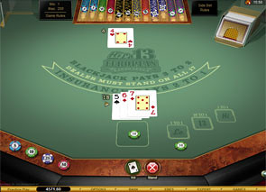 Hi Lo 13 European Blackjack Gold game