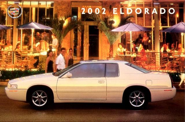2002 postcard cadillac eldorado