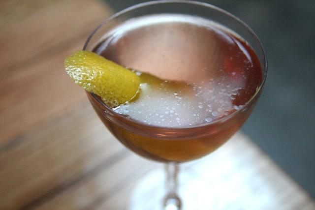 Presiente cocktail at Bar Agricole by Caroline on Crack