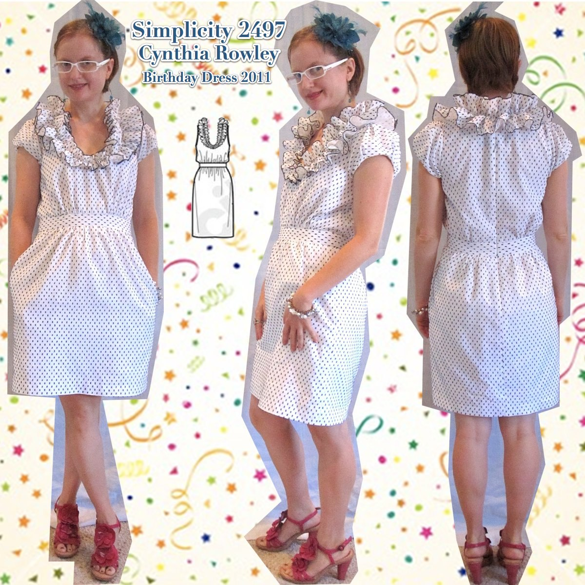 S2497 Birthday Dress Thumbnail