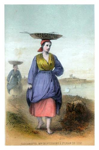 014-Pescadera de San Juan de Luz-Costumes pyrénéens-1860