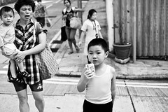Naughty Boy (Ding Yuin Shan) Tags: leica family boy naughty 50mm blackwhite hong kong summicron wan vita m9 sheung