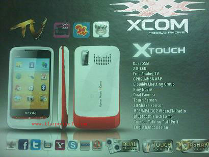 XCOM XTouch, Dual On TV Full Touchscreen