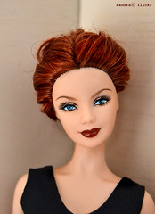 Barbie Titanic enhanced. (Sandra) Tags: rose closeup flickr sandra ooak barbie explore mackie titanic redhair partial enhancement repaint headmold facemold sandra sandraflickr sandraflickr