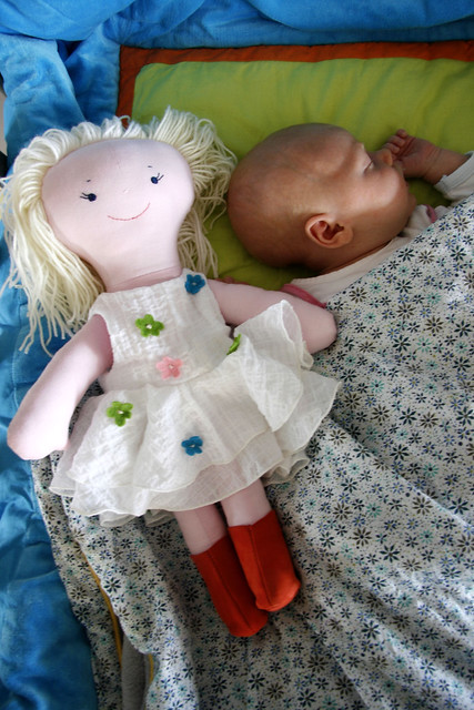 A Tante Hilde doll