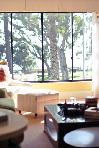 The Oceana Hotel in Santa Monica-suite decor-living room