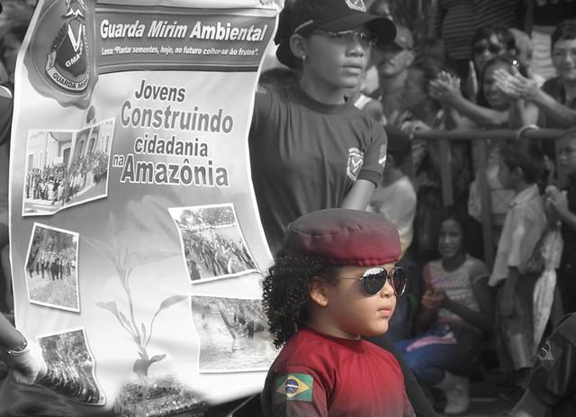 7 de Setembro em Santarém. Foto: Eduardo Dourado