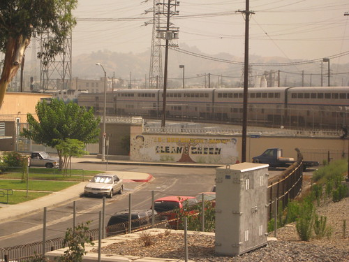 Coast Starlight - outside of LA