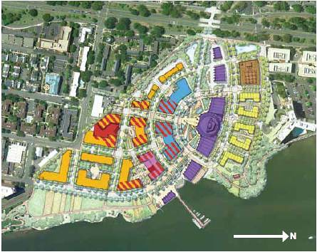 Alexandria site re-envisioned (by: Cooper Carry via Potomac River Green)