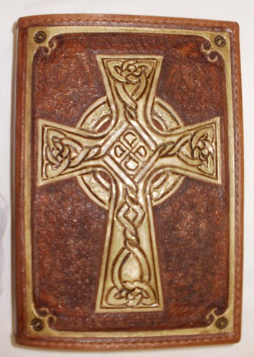 가죽공예;성경표지(Leather craft Bible cover)