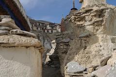 Lamayuru (India) - Ruined stupas ( V ) Tags: india building art architecture asian religious temple asia buddhist buddhism medieval monastery tibetan himalaya himalayas jk bharat gompa subcontinent jammuandkashmir lamayuru ilobsterit
