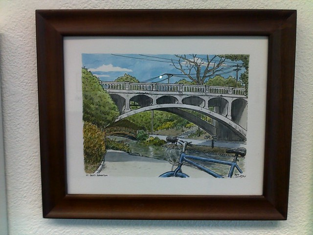 arboretum bridge at pence gallery auction