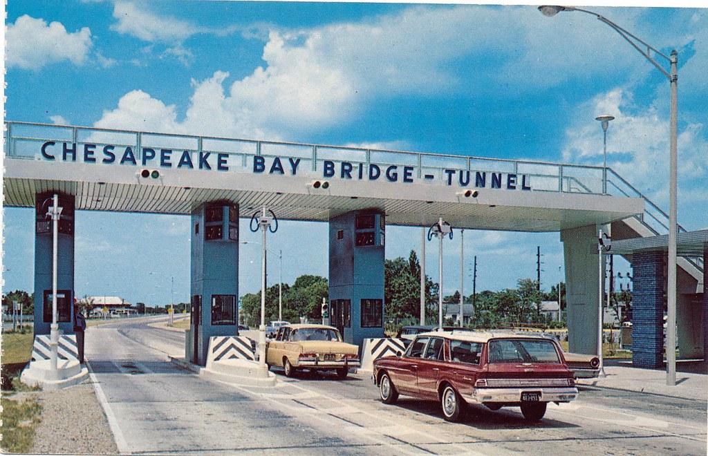 Toll Plaza, Chesapeake Bay Bridge-Tunnel Norfolk, Va.