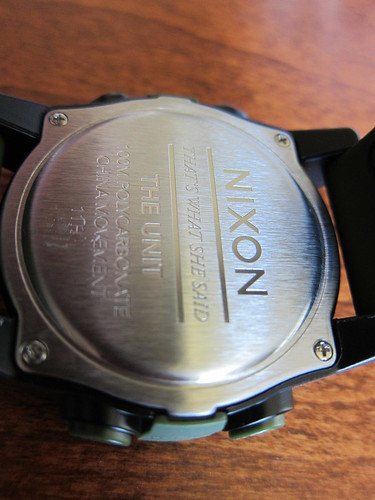 Nixon Magnacon SS Unit Time Teller Sept 2011 004