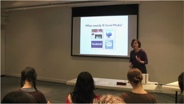 A Free Video Class (me teaching social media marketing), from I Heart Art
