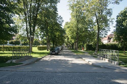 Hinterer Innenhof - Altes Schloß Oberschleißheim