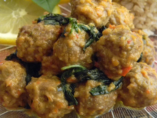 Meatballs in Three Lemony Leaves 1