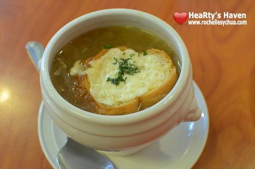 Capreal Onion Soup