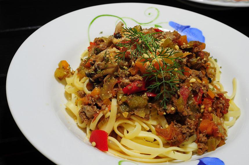 Beef Bolognese Liguinie