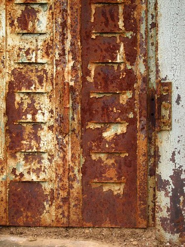 French Rusty Window by Danalynn C