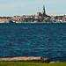 Lysekil, sedd från Skaftö