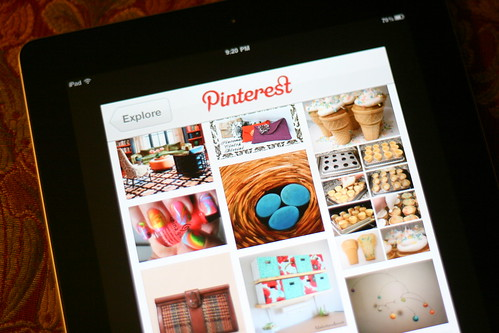 Pinterest + iPad = Love by Bunches and Bits {Karina}, on Flickr