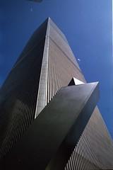 World Trade Center (kosare) Tags: nyc newyorkcity film analog 1982 manhattan worldtradecenter scan twintowers wtc pre911