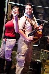 Chloe and Nathan Drake cosplay at PAX Prime 2011