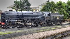 70 000 Britannia (Big G1948) Tags: lumix steam panasonic locomotives locos minehead wsr westsomersetrailway tonemapped steamlocos lx5 pacifics