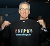 Gerry Kelly MLA with his WIMPS t-shirt | Flickr - Photo Sharing!
