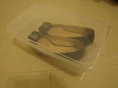 大創:透明鞋盒