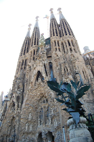 La Sagrada Familia - nativity facade