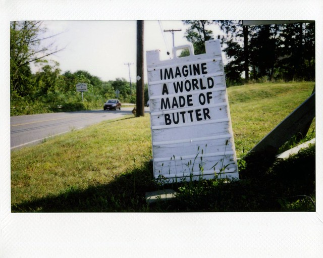 a world made of butter