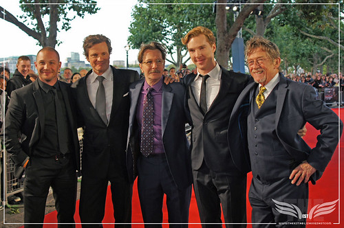 The Establishing Shot : Tinker, Tailor, Soldier, Spy Premiere - Tom Hardy, Colin Firth, Gary Oldman, Benedict Cumberbatch, Mr. John Hurt by Craig Grobler