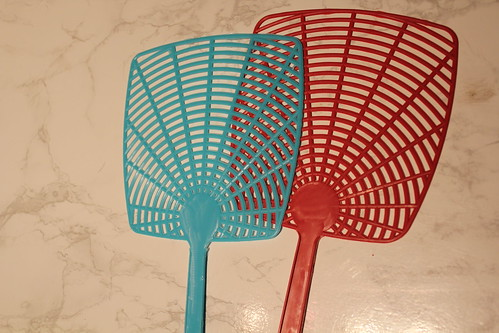 Fly-swatter game