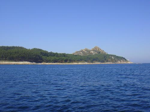 Zona norte de la isla de Monteagudo