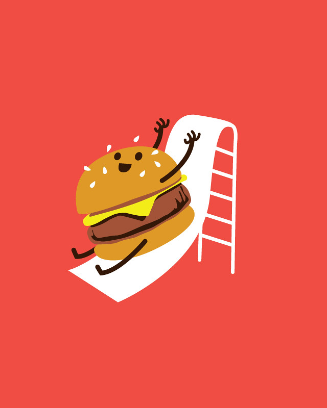6149697729 225b7cb712 b Slider (its a mini burger sliding down a slide!)