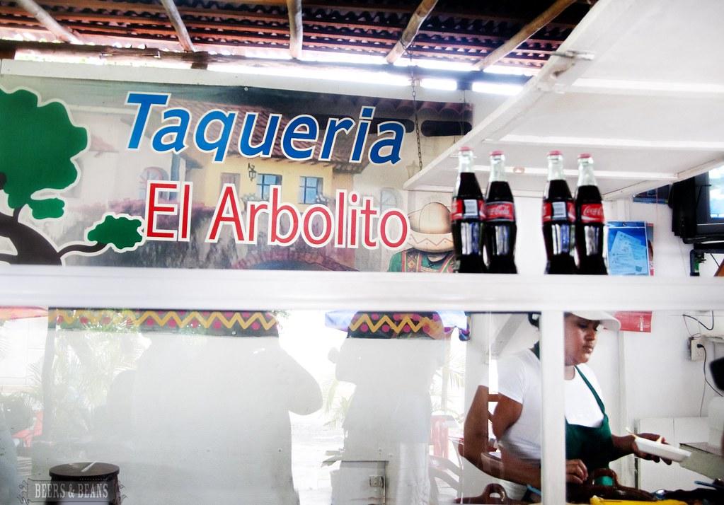 El Arbolito Taqueria in Playa Del Carmen, Mexico