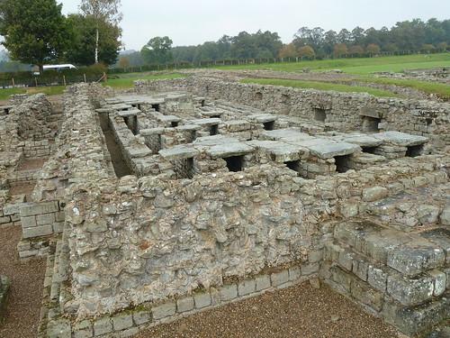 Granaries at Corbridge Roman Site